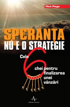 SPERANTA NU E O STRATEGIE